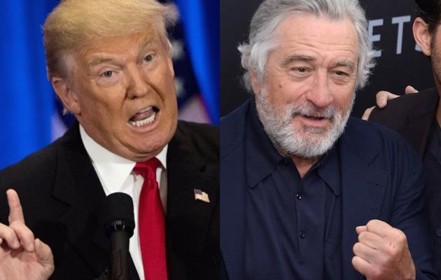 Robert De Niro slams Trump in awards rant