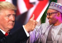Presidents Buhari and Trump