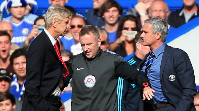 Mourinho regrets bust-ups with Arsenal boss Wenger