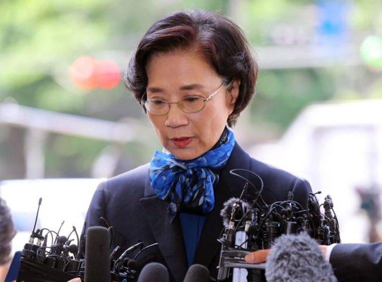 Mother of 'nut rage' Korean Air heiress questioned