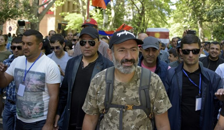 Tens of thousands of Armenian protesters shut down capital
