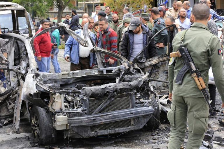 Damascus shelling, blast kill two: state TV