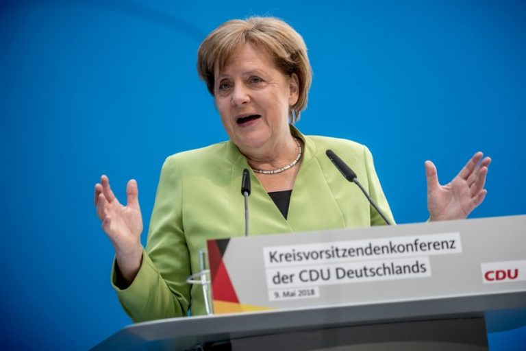 Europe to do all to keep Iran in nuclear deal: Merkel