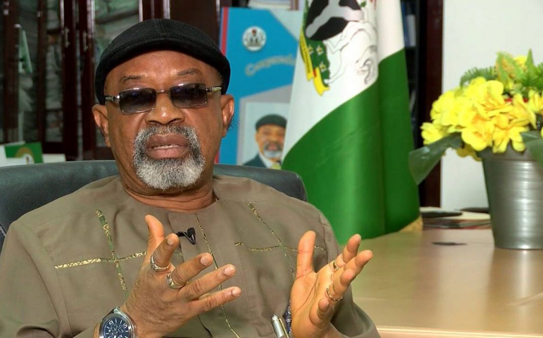 Chris Ngige, Minister of Labour and Productivity