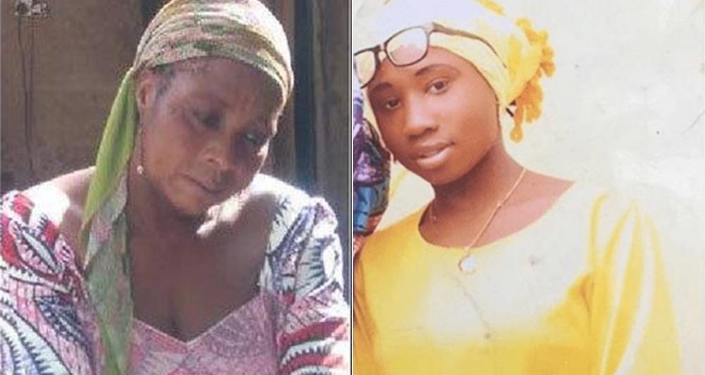 Leah Sharibu and Mother