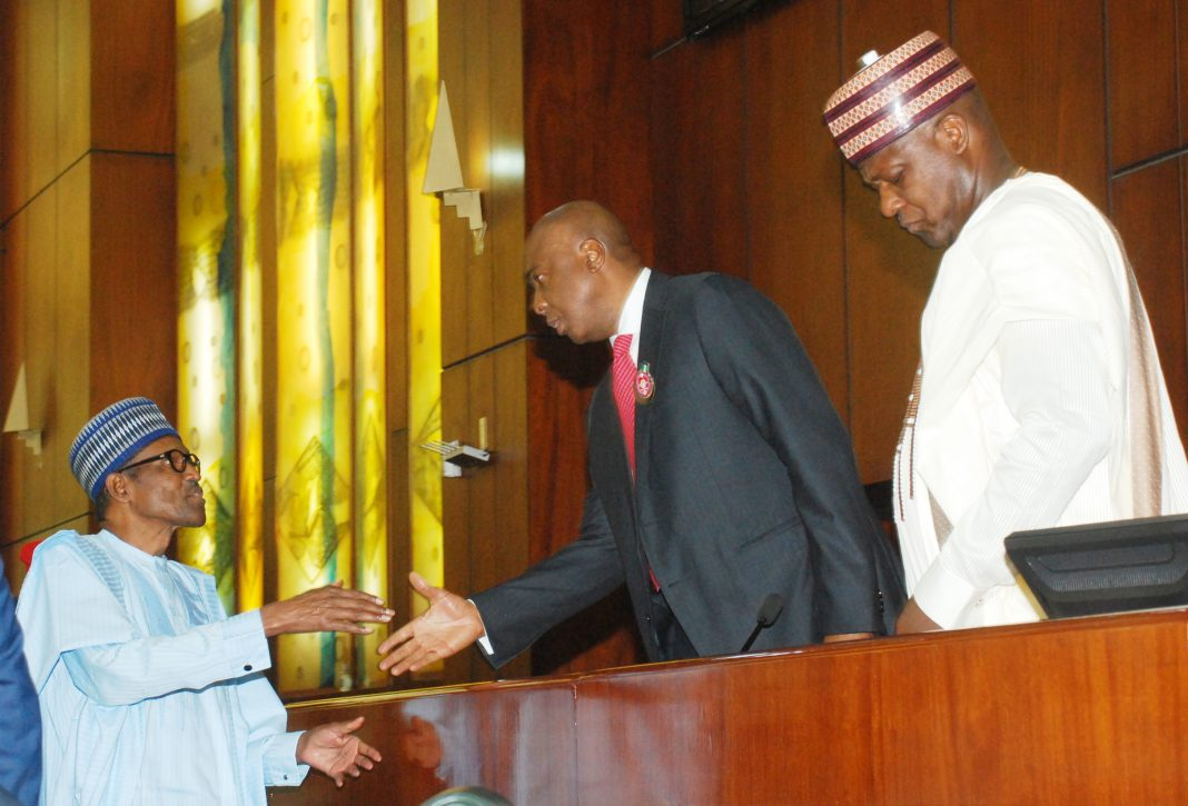President-Buhari-presents-N8.612-Trillion-as-2018-Appropriation-Bill-to-National-Assembly-in-Abuja