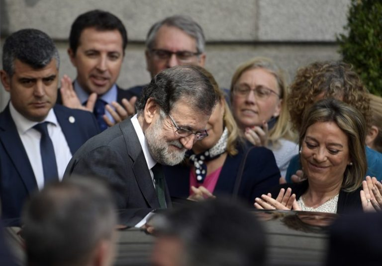 Spain's Rajoy forced out as Socialist rival takes over