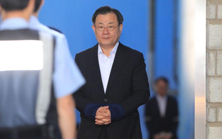 South Korea jails ex-spy chiefs for bribing former president
