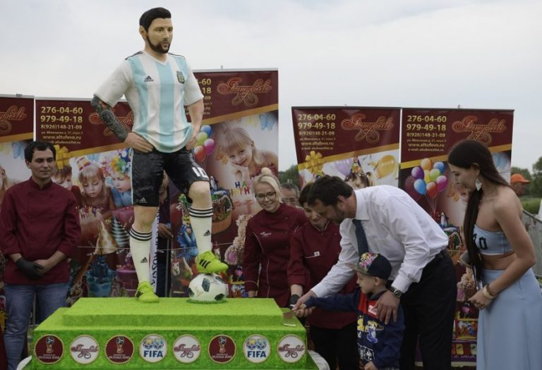 Messi's birthday party and other titbits from World Cup