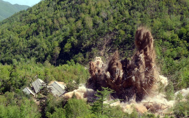 North Korea still building at nuclear site