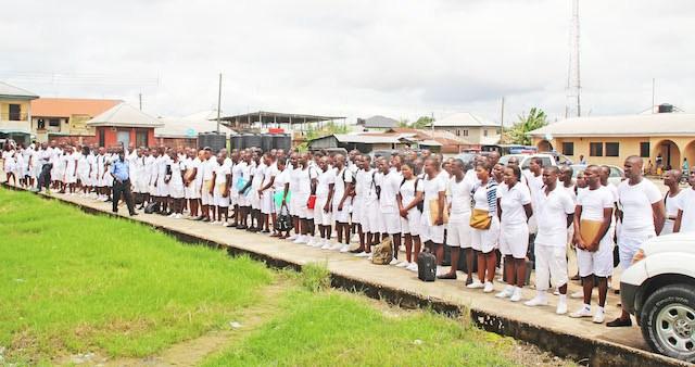 FILE: Cadet training in Yenagoa