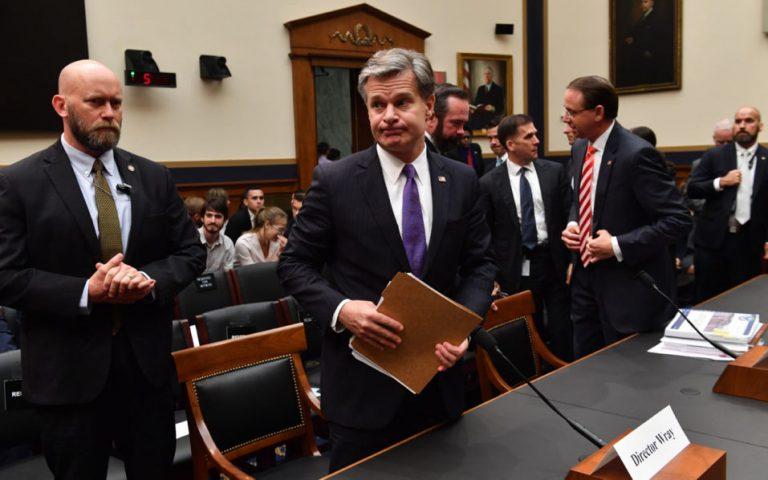 FBI chief reiterates: Russia meddled, whatever Putin & Trump say