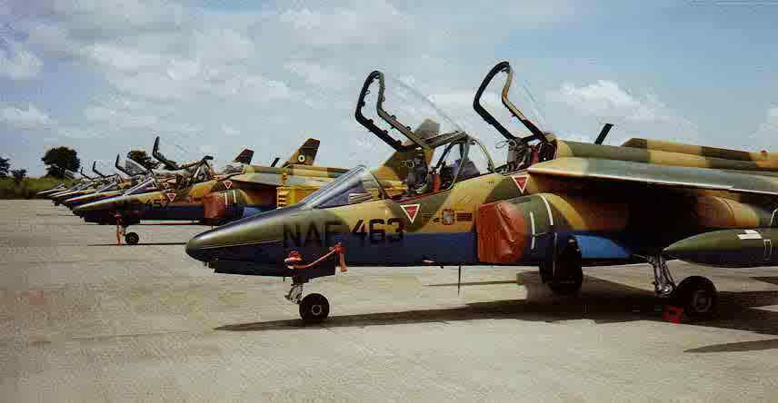 Nigerian Air Force Alpha Jets