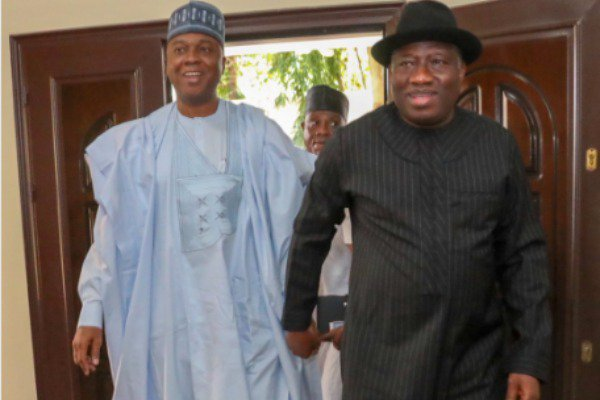 saraki and jonathan