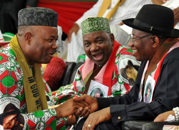 My heart was with Buhari not Jonathan during 2015 election, says Akpabio
