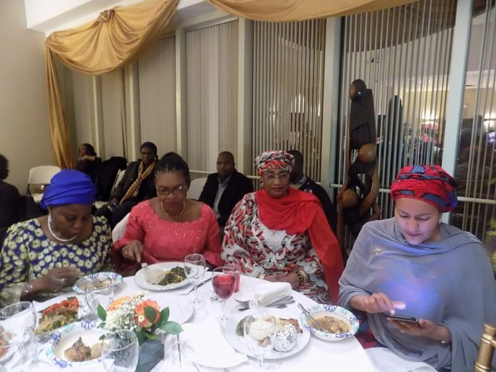 Aisha Alhassan and other dignitaries