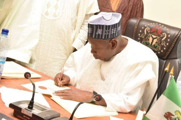 Ganduje pays N2bn to 1,313 Kano pensioners