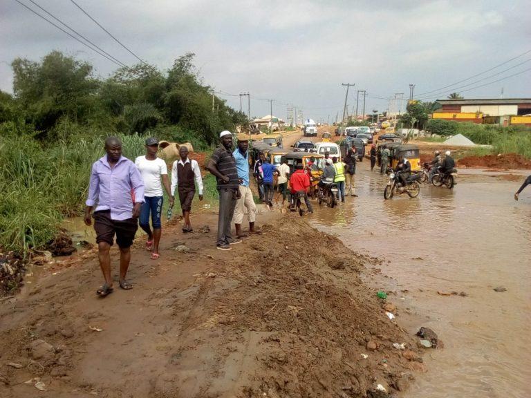 Flood cuts off 3 communities in Lagos