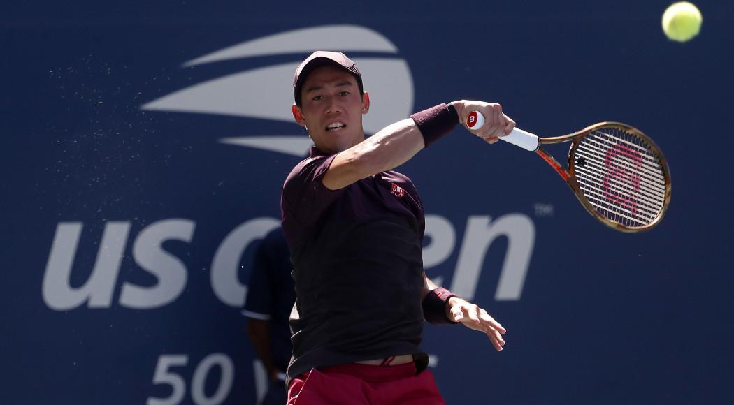 Djokovic, Nishikori, Cilic, advance; Federer out