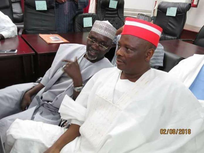 L-R: Malam Ibrahim Shekarau and Senator Rabiu Musa Kwankwaso