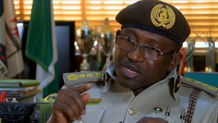 Muhammad Babandede, Nigeria Immigration Service boss