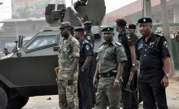 Nigerian Police and Army