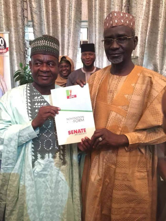 Shekarau picks APC Senate form