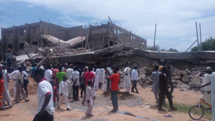 building collapses in kano