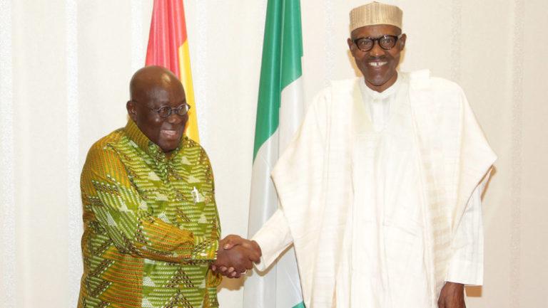 Ghanaian president congratulates Buhari on re-election