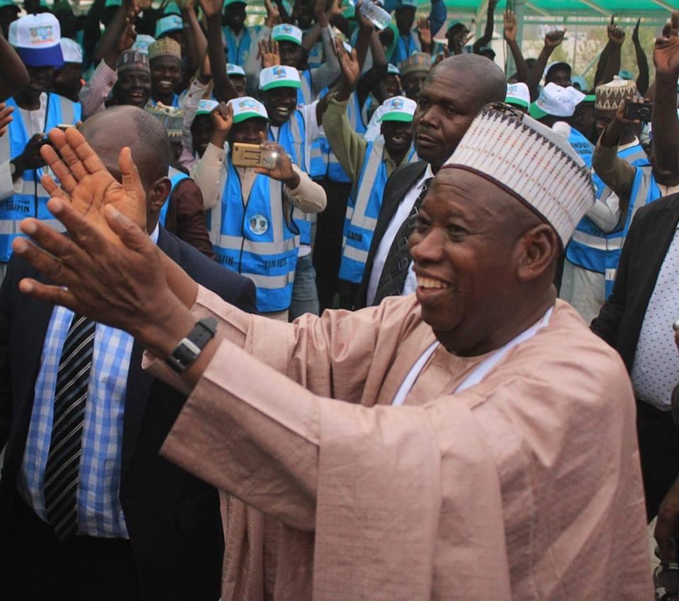 Governor Abdullahi Umar Ganduje of Kano State