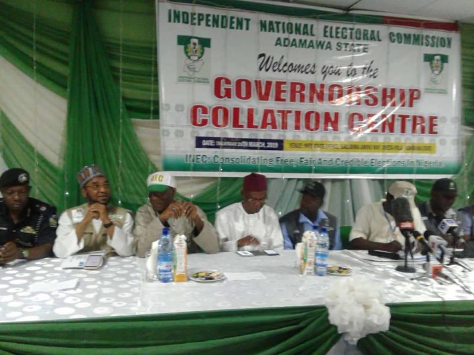 Adamawa INEC collation centre