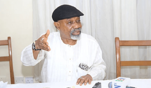 Minister of Labour and Employment, Chris Ngige,