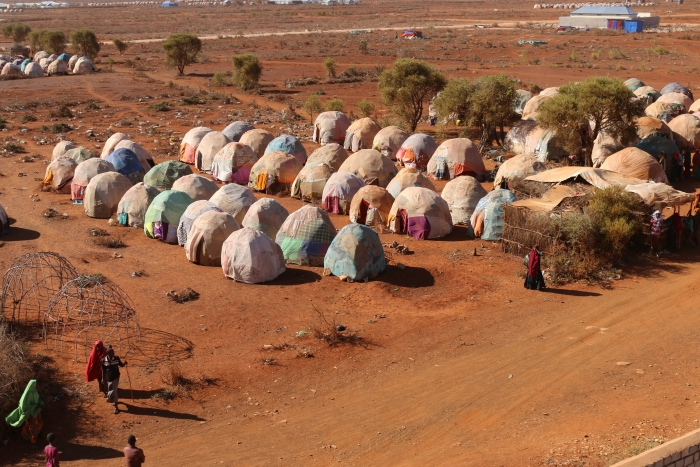 Drought in Baidoa: The magnitude of the drought in South Central Somalia has become enormous, forcing many people to leave their homes.