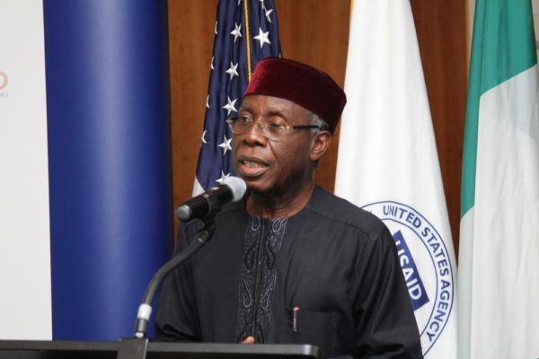 Agriculture Minister Audu Ogbe