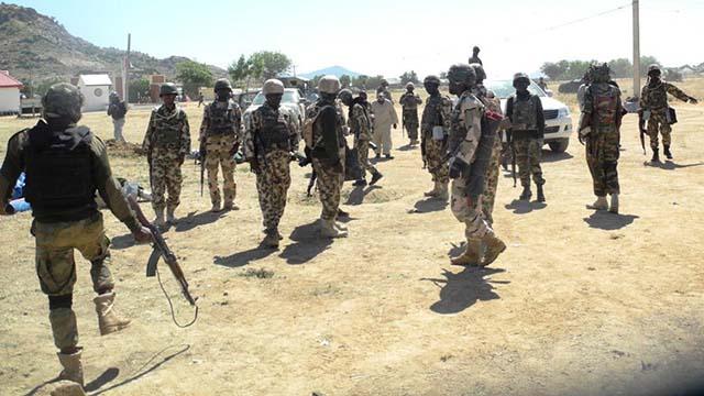 Nigerian troops kill 3 terrorists in Borno, recover weapons
