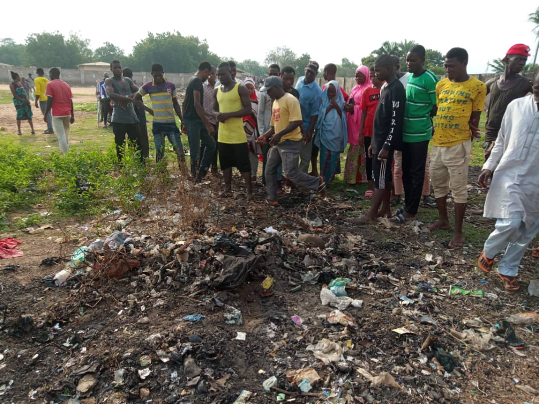 Man found dead in Lafia, covered with refuse