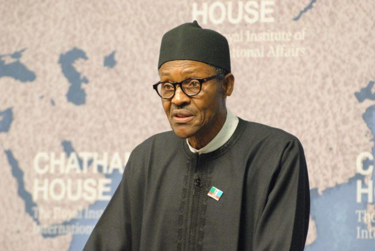Buhari links insecurity to illicit financial activities