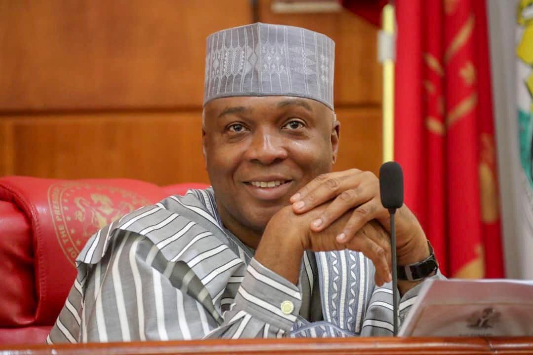 President of the Senate Bukola Saraki