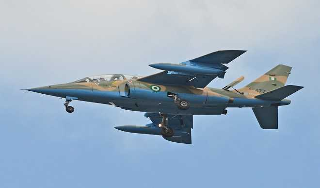 Nigerian Air Force neutralises insurgents, destroys their structures in Borno