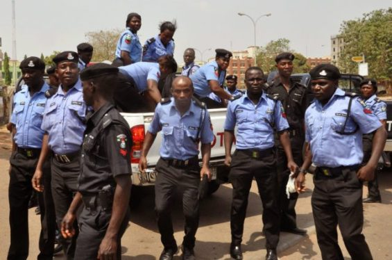 Picture of Nigerian Police Used for Illustration
