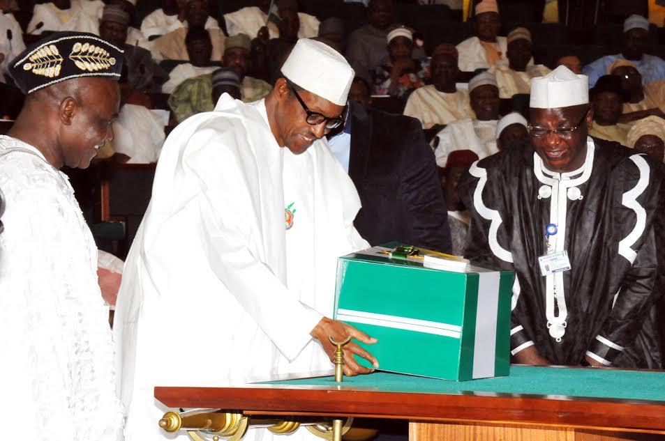 President Muhammadu Buhari presents Budget to National Assembly