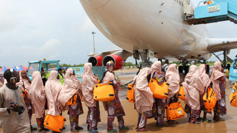 36,199 Nigerian pilgrims in Saudi Arabia for 2019 Hajj