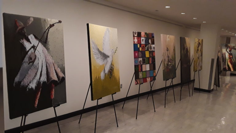 Nigeria holds art exhibition at UN to promote SDGs