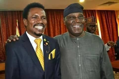 Atiku Abubakar with Senator Elisha Abbo