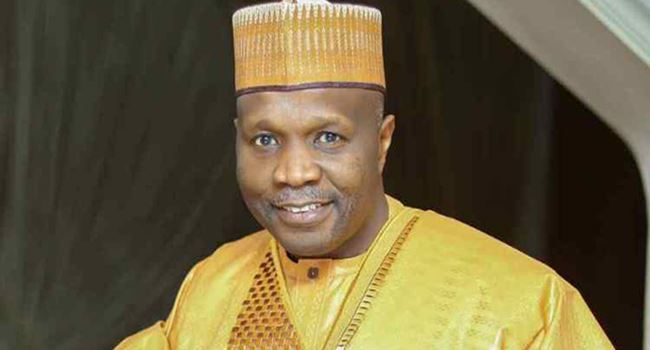 Governor Muhammadu Inuwa Yahaya of Gombe State
