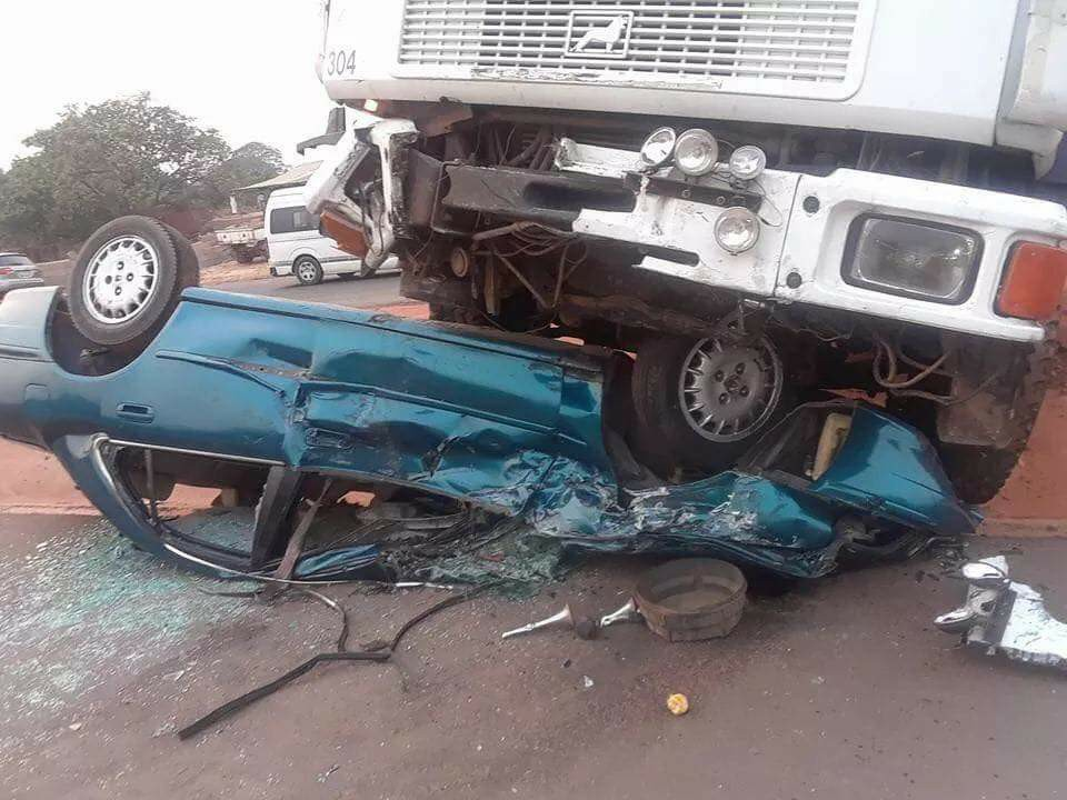 FILE PHOTO: A scene of an accident.