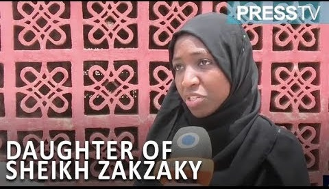 El-Zakzaky's daughter speaks from Dubai, says 'no going back on street protests'