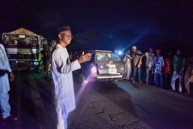 How El-Rufai left Abuja, trekked for 10km to solve Kaduna-Abuja traffic gridlock