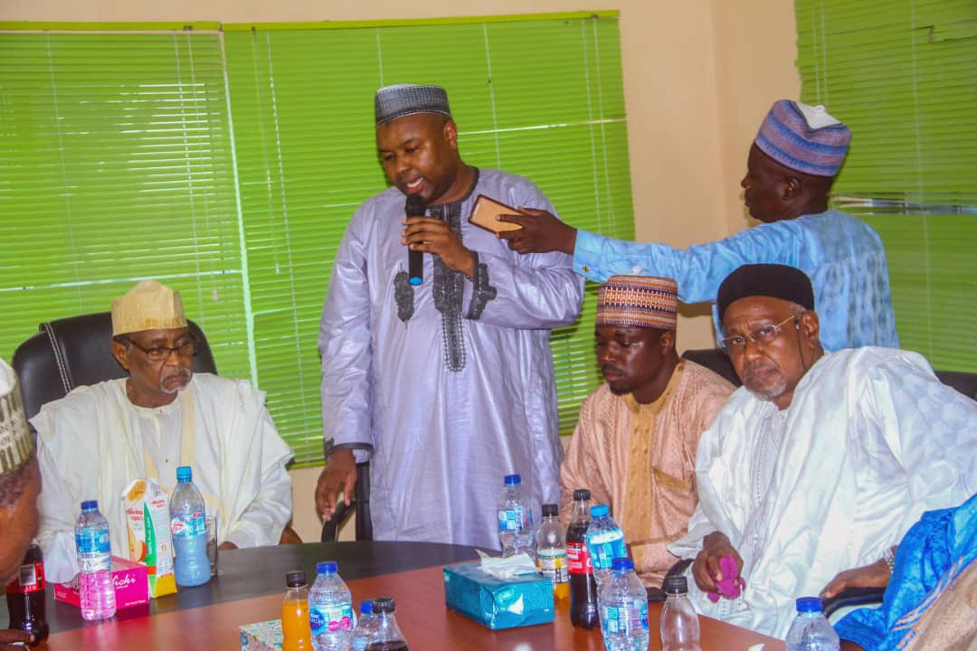 Tiamin Rice MD Aminu Ahmed, speaking with Kano Concerned Citizens Initiative