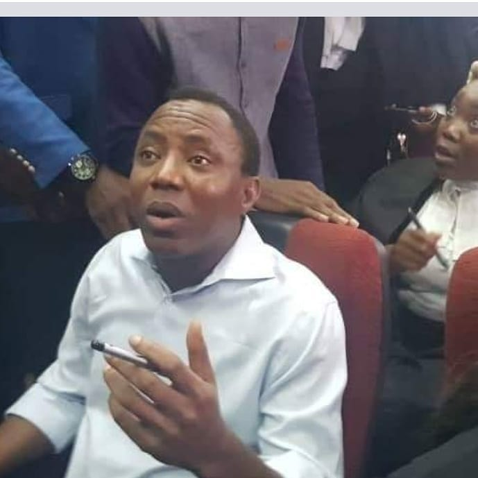 Omoyele Sowore in court on Monday September 30, 2019